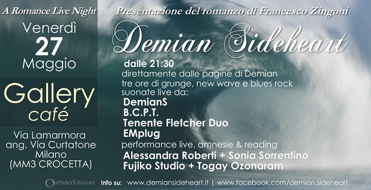 Serata di presentazione Demian Sideheart 15 Dicembre 2010